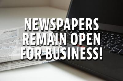 Newspapers remain open