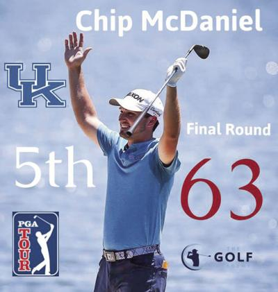 McDaniel finishes tied for 5th in PGA event