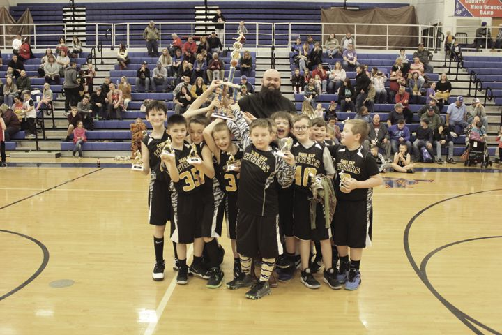Sand Gap Tigers 2nd & 3rd Grade Champions
