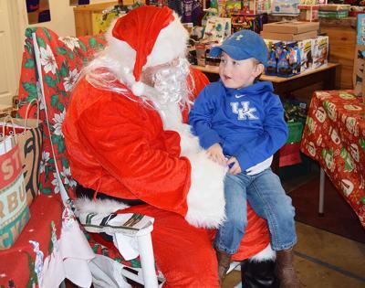 Santa at Gambrels