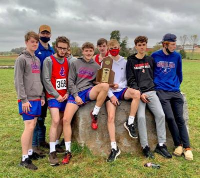 2020 Boys JCHS Cross Country Region 6A Champions