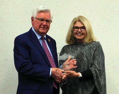 Hal Rogers and Marcia Hawkins