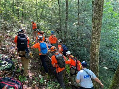 Search and Rescue Respond to Individual South of Chimney Top Trail