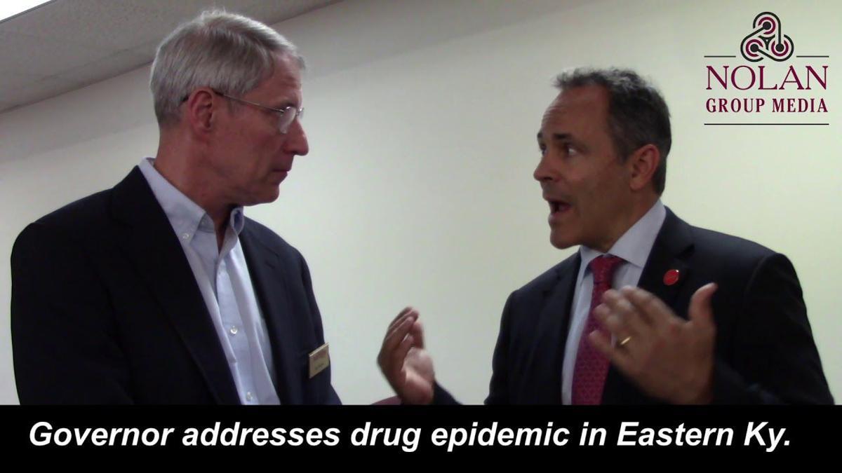 Gov. Bevin addresses drug epidemic in Eastern Ky.