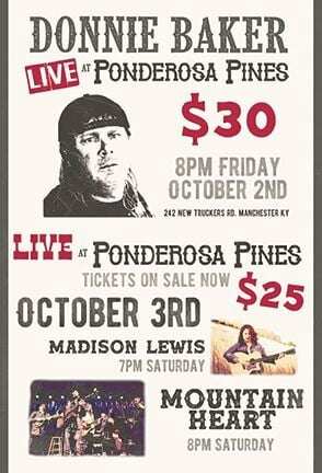Comedian Donnie Baker coming to Ponderosa Pines