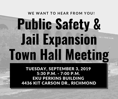 Town Hall meeting jail