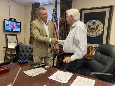 State Rep Wesley Visits Congressman Rogers