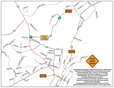 Memorial Drive will be closed beginning Monday