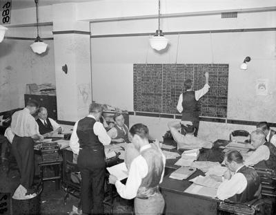 AP File Tabulating Election Results in 1940