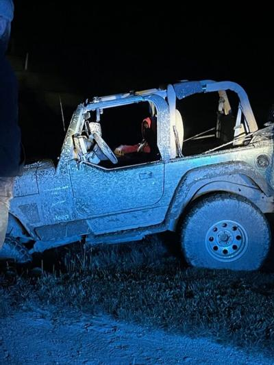 Ohio man found in wrecked Jeep with underage girl