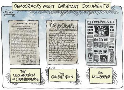 On this Independence Day, recalling the Founders' views of a free press
