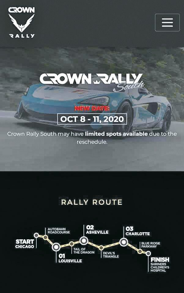 CROWN RALLY 2020 4 A Cause