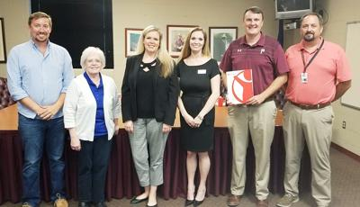 Save the Children visits Pineville School Board