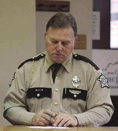Sheriff Paul Hays