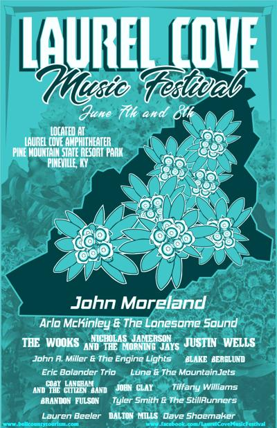 Laurel Cove Music Festival poster