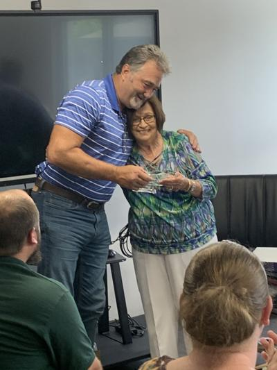 School Board Thanks McIntosh for His Service