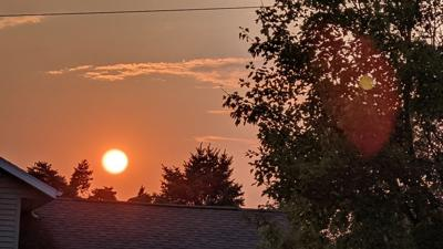 Hazy Skies Due to Wildfires