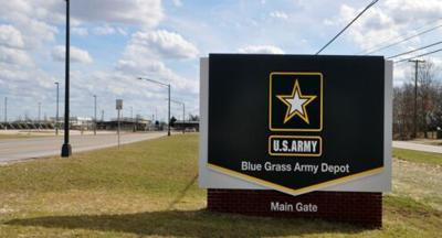 Army Depot sign