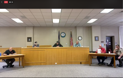 Jackson County Fiscal Court Meeting