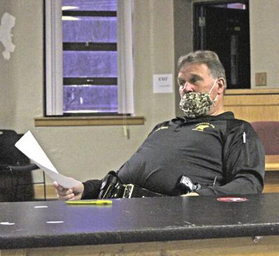 Sheriff Hays at Citizens Patrol Meeting