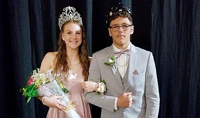 Norfolk High 2021 prom royalty