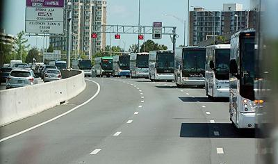Motorcoaches in D.C.