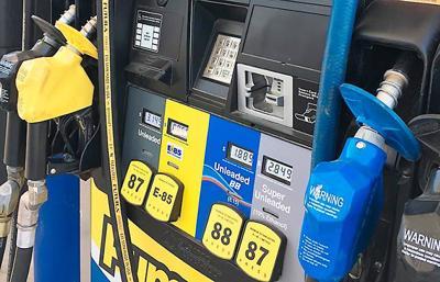 Higher blend gas pumps