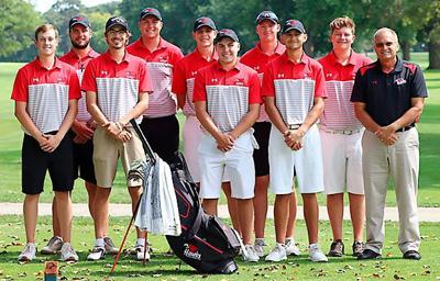 Northeast men's golf team 2020