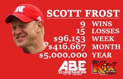 What grade are you giving Scott Frost & the Huskers?