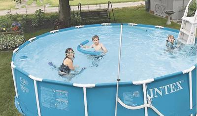 Above-ground pool