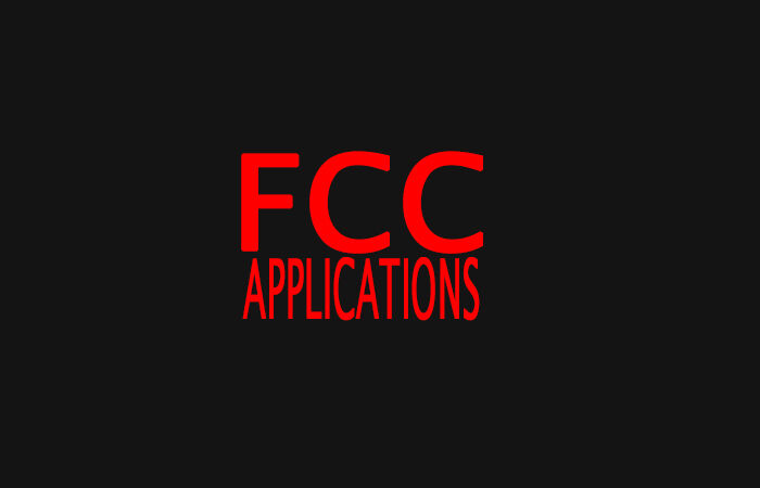 FCC Applications