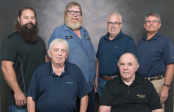 Members of 1979 wrestling team