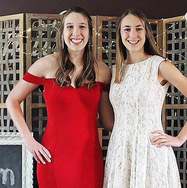 Jessica and Kayla Svoboda