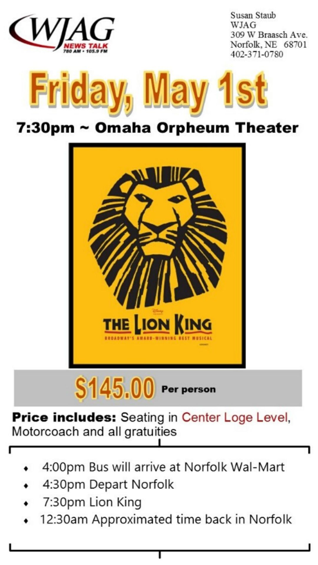 Lion King May 1