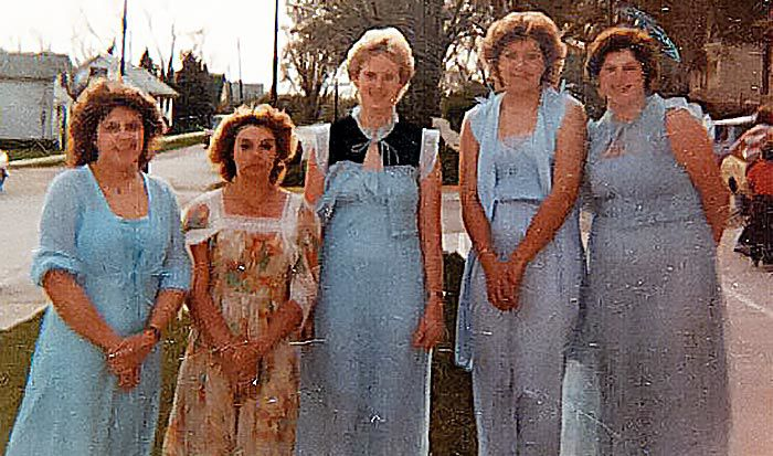 1983 Stanton High School prom