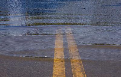 Water on roads