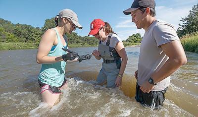 Niobrara River UNL project