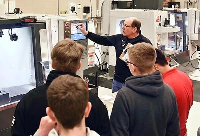 Machining and manufacturing program