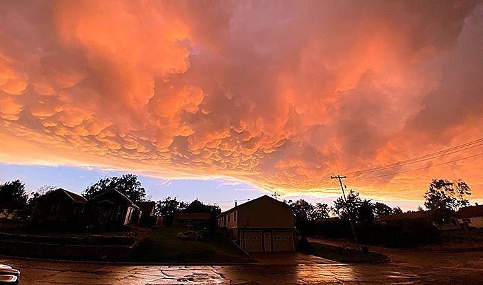 Clouds over Wauneta