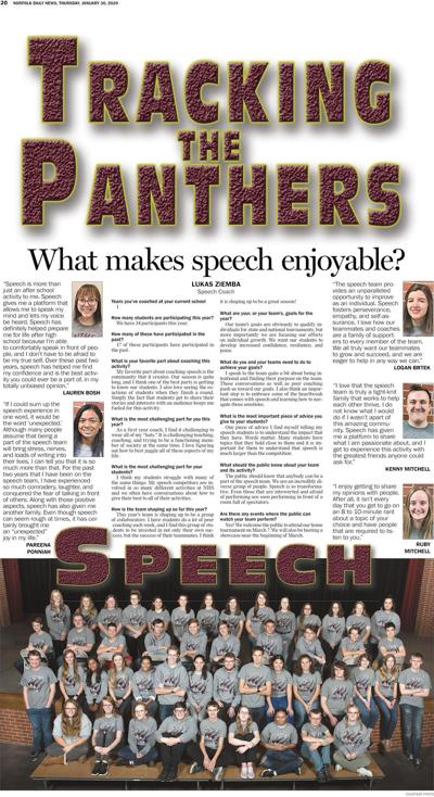 Tracking the Panthers - Norfolk High Speech