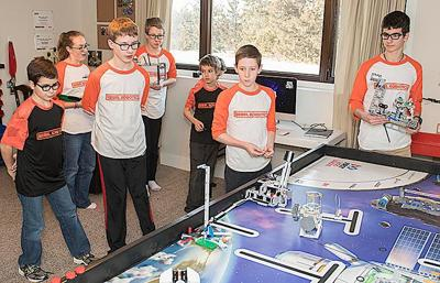 Local team to compete at state First Lego League competition