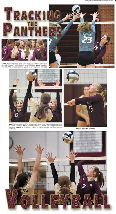 Tracking the Panthers - Volleyball