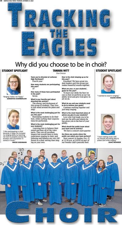 Tracking the Eagles Choir
