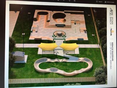 Miracle Skatepark design
