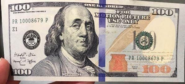 Motion picture money