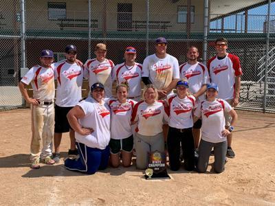 Denker Trucking wins CO-ED Class 'F' Softball State Championship
