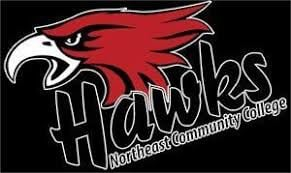 Northeast Hawks basketball teams split home twinbill with North Dakota State College of Science