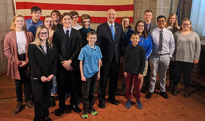 Ricketts with Find Your Genius kids