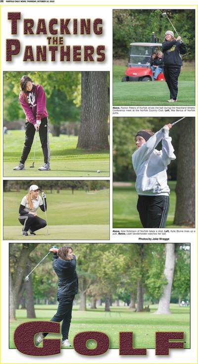 Tracking the Panther - Girls Golf