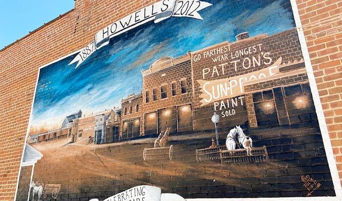 Howells mural